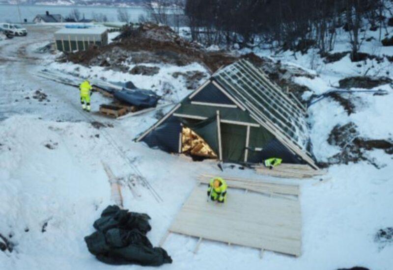 Bjørgelva telt stasjonstomt