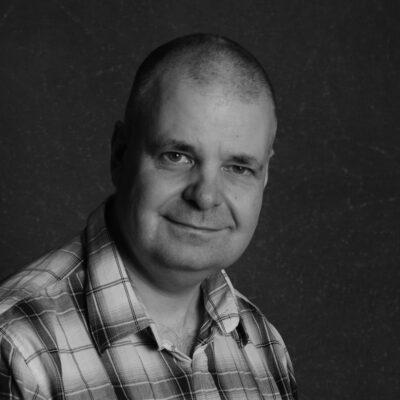 Stefan Larsson sorthvitt